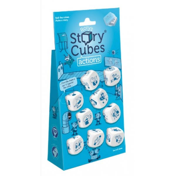 Rorys Story Cubes Actions Hangtab -  Rorys Story Cubes
